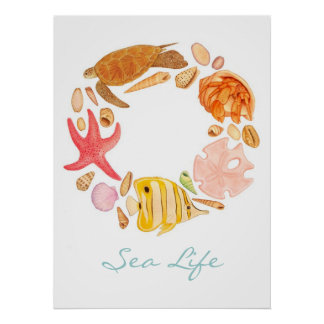 Sea Life Print