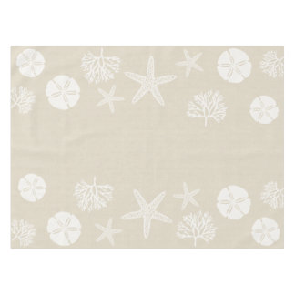 Sea Life Silhouettes Tablecloth