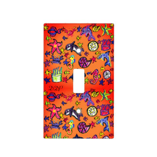 Sea Life summer Light Switch Cover