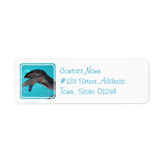 Sea Lion Return Address Label