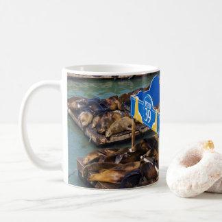 Sea Lions in San Francisco Coffee Mug