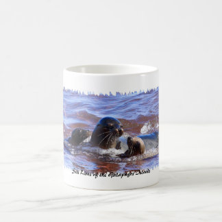 Sea Lions of Galapagosa Coffee Mug
