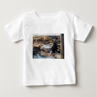 Sea Lions on the Floating Dock in San Francisco Baby T-Shirt