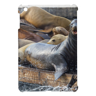 Sea Lions on the Floating Dock in San Francisco iPad Mini Covers