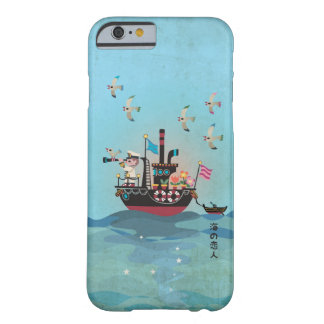 Sea Lover Retro Japanese illustration Barely There iPhone 6 Case