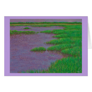 Sea Marsh Card