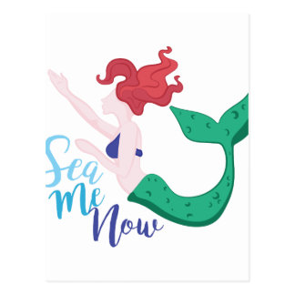 Sea Me Now Postcard