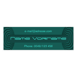 sea mini business card
