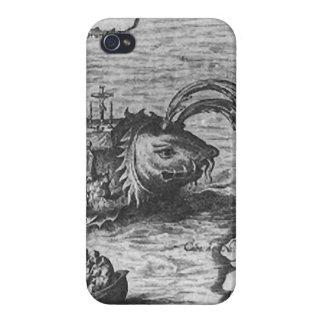 Sea Monster/Creature/Kraken iPhone 4/4S Cover/Case iPhone 4/4S Case