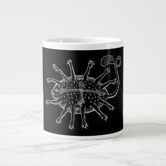 Sea Monster: grabbing and staring Large Coffee Mug