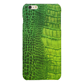 Sea Monster in Bright Green Faux Leather
