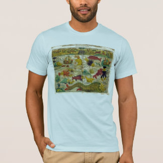 Sea Monster Map T-Shirt