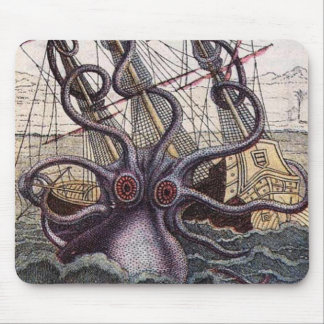 Sea Monster Mousepad
