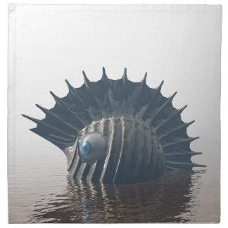 Sea Monsters Napkin