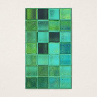 Sea Mosaic custom business card template