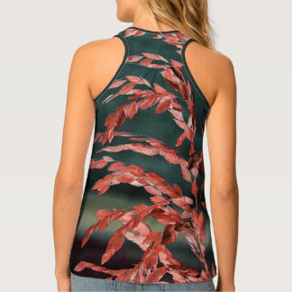 Sea Oats Abstract Tank Top