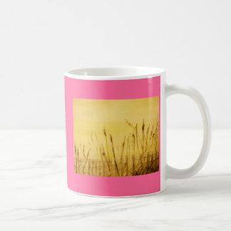 sea oats classic white coffee mug