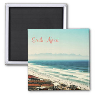 Sea Ocean Waves Yacht Surfing South Africa Magnet
