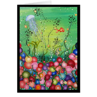 Sea of Color- Greeting Card, Thinking of You Card