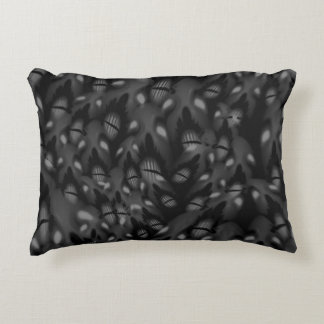 Sea of Faces Decorative Pillow
