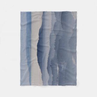 Sea of Foggy Mountains Fleece Blanket