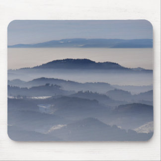 Sea of Foggy Mountains Mouse Pad