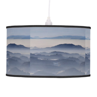 Sea of Foggy Mountains Pendant Lamp