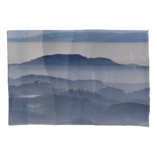 Sea of Foggy Mountains Pillowcase