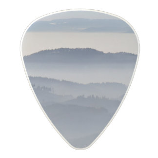 Sea of Foggy Mountains Polycarbonate Guitar Pick