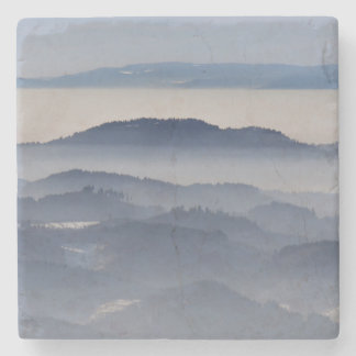 Sea of Foggy Mountains Stone Coaster