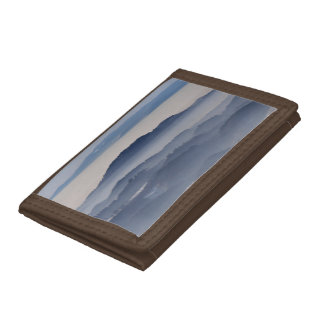 Sea of Foggy Mountains Trifold Wallet