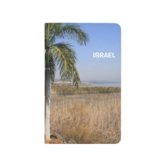 Sea of Galilee in Israel on a Pocket Journal