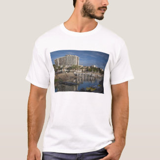 Sea of Galilee-Lake Tiberias waterfront, dawn T-Shirt