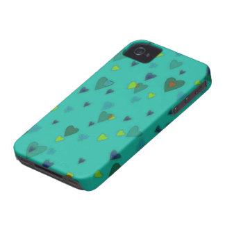 Sea of Hearts Blackberry Case