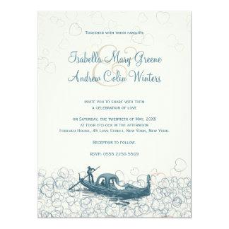 "Sea of Love Wedding Invitation 6.5"" X 8.75"" Invitation Card"