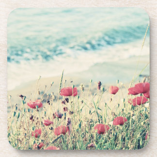 Sea of Poppies Drink Coasters