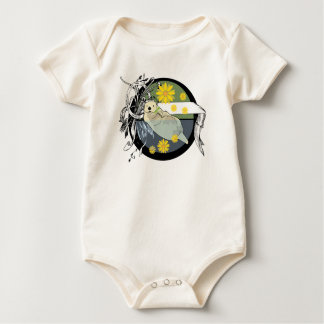 sea otter baby bodysuit
