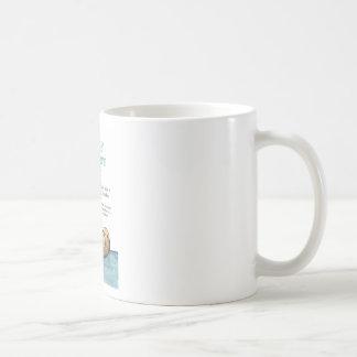 Sea otter mothers day coffee mug