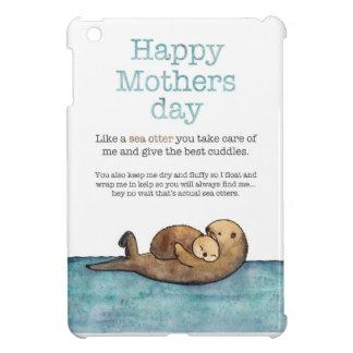 Sea otter mothers day iPad mini cover