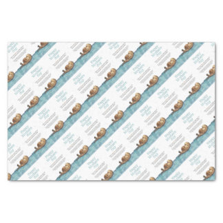 Sea otter mothers day tissue paper