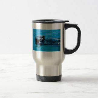 Sea Otter oil Travel Mug