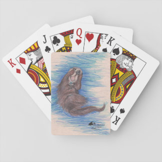 Sea Otter Playing Cards