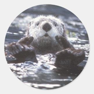 Sea Otter Stickers