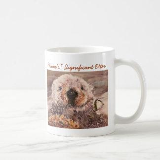 Sea Otter Valentine's Day Significant Otter Mug