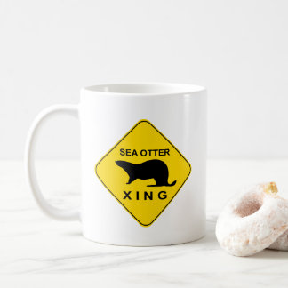 Sea Otter Xing Coffee Mug