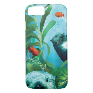 Sea Otter's Garden IPhone Case
