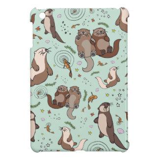 Sea otters iPad mini cover