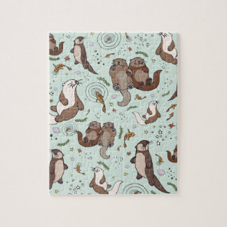 Sea otters jigsaw puzzle