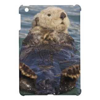 Sea otters play on icebergs at Surprise Inlet Case For The iPad Mini
