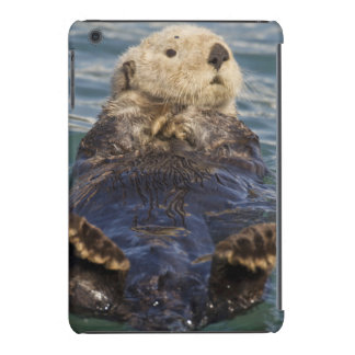 Sea otters play on icebergs at Surprise Inlet iPad Mini Retina Covers